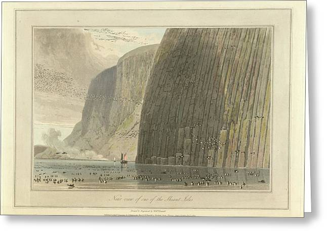 Near View Of One Of The Shiant Isles Greeting Card