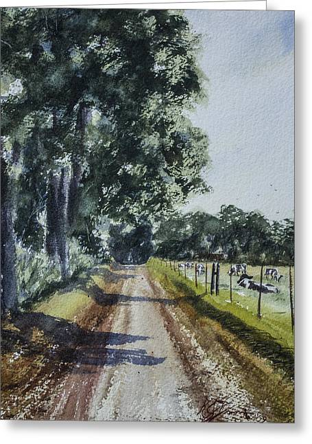 Nearing Goosecreek Greeting Card