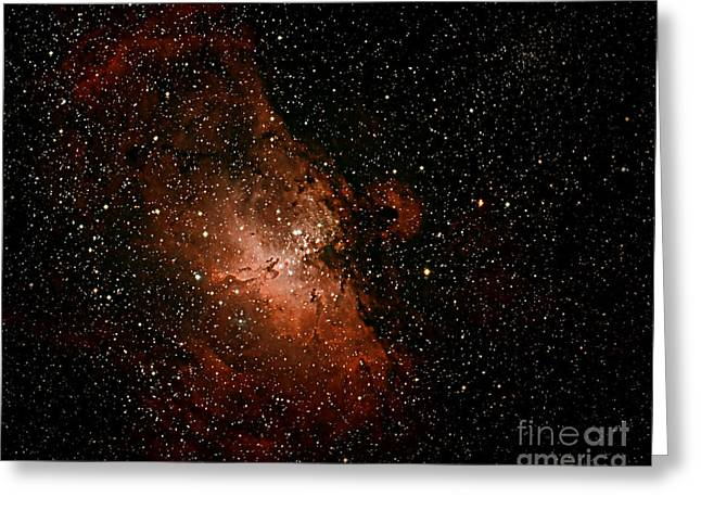 Nebula  M16 Greeting Card