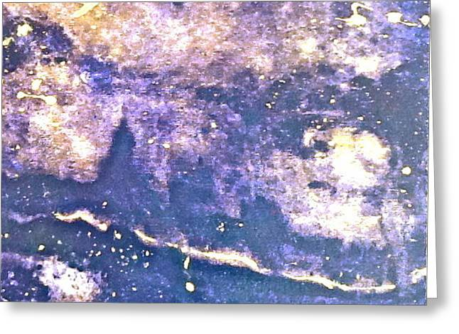 Nebulae Greeting Card by Theresa St Laurent