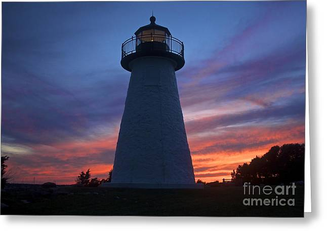 Ned's Point Lighthouse Greeting Card by Amazing Jules