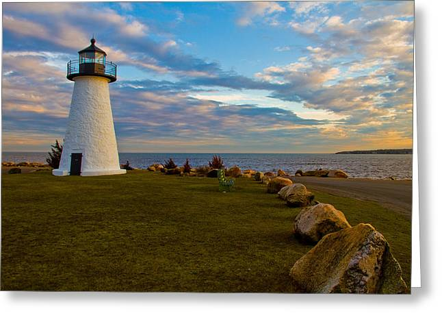 Neds Point Lighthouse Greeting Card