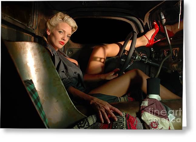 Need A Lift Greeting Card by Jt PhotoDesign