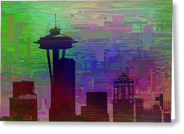 Needle Cubed 2 Greeting Card by Tim Allen