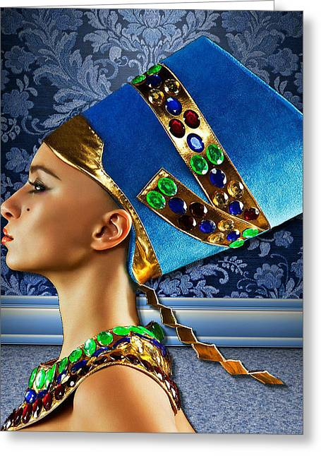 Nefertiti 2 Greeting Card