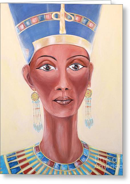 Nefertiti. Inspirations Collection Greeting Card