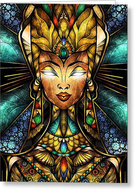 Nefertiti Greeting Card