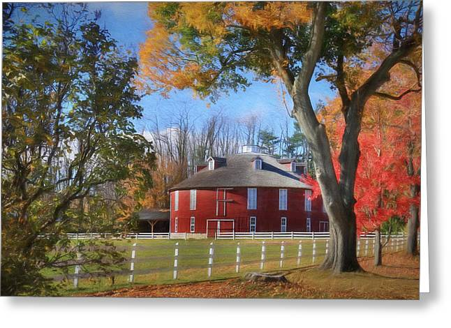 Neff Round Barn Greeting Card
