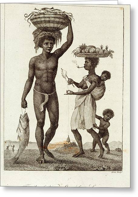 Negro Slaves Greeting Card