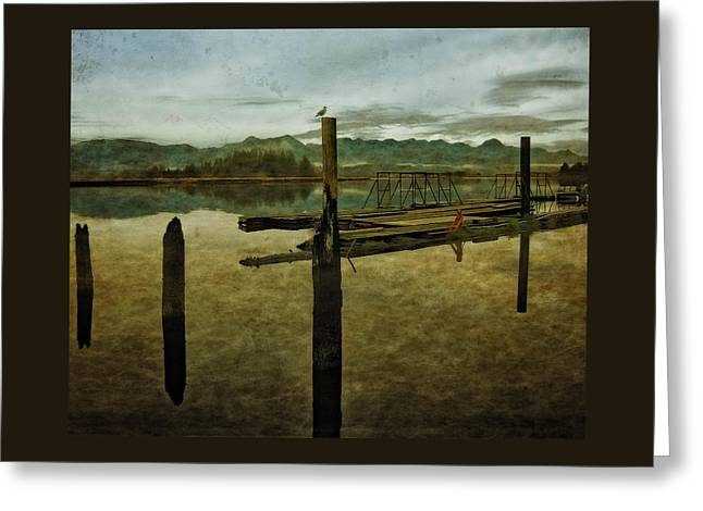 Nehalem Bay Reflections Greeting Card
