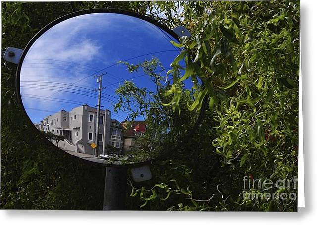 Greeting Card featuring the photograph Neighborhood Reflection by Sherry Davis