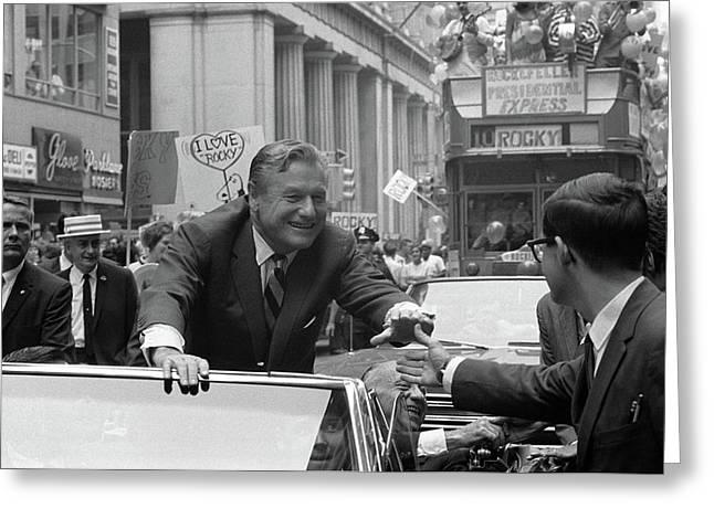 Nelson Rockefeller (1908-1979) Greeting Card by Granger