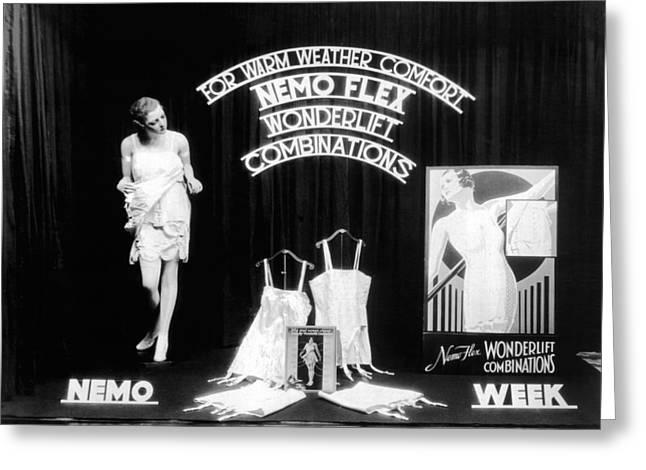 Nemoflex Wonderlift Garments Greeting Card