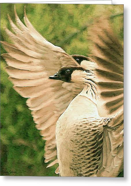 Nene Goose Greeting Card