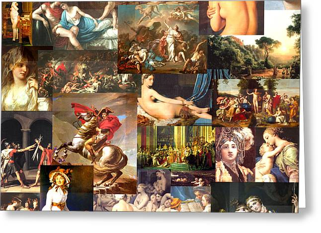 Neo-classicism 1750 To 1830 Greeting Card