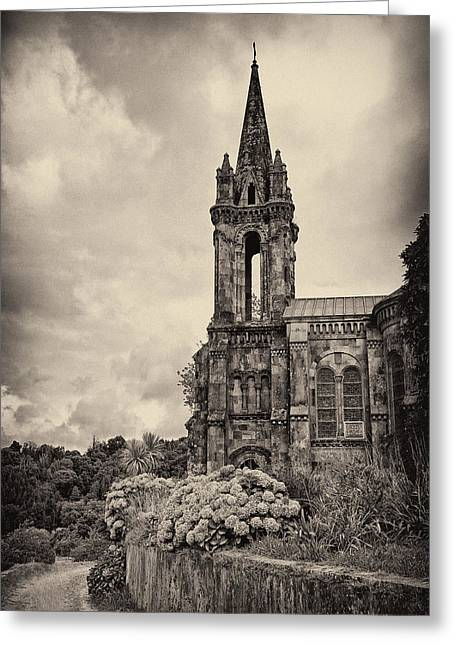 Neo Gothic Chapel Greeting Card