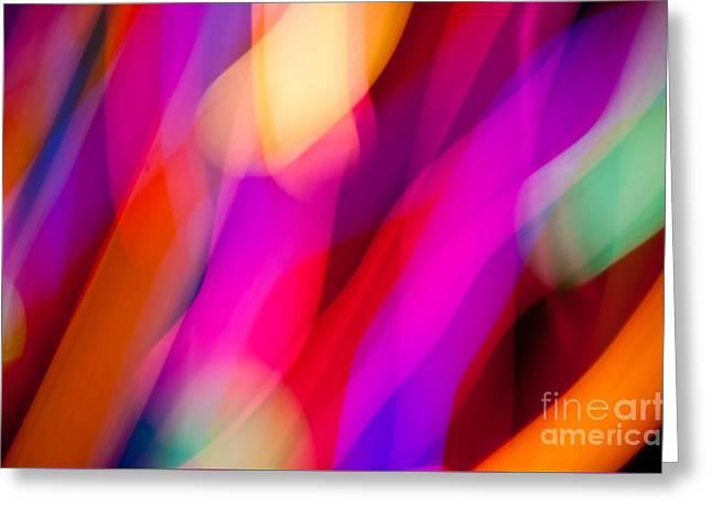 Neon Dance Greeting Card
