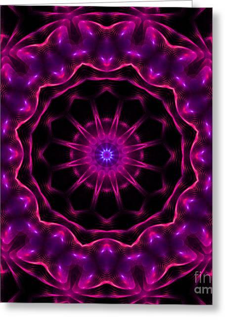 Neon Magic Greeting Card