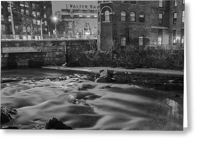 Neponset At Night Greeting Card by Brian MacLean