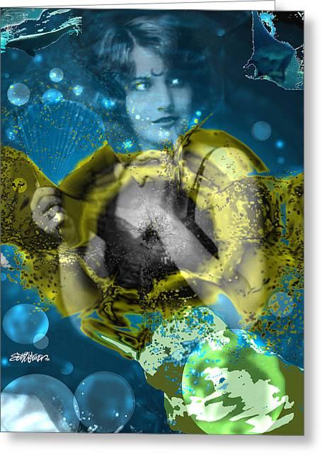 Neptune's Daughter Greeting Card