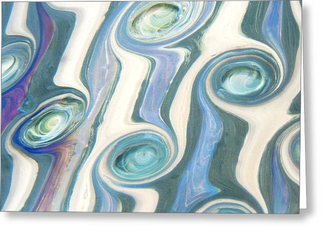Neptunian Greeting Card by Jubilant  Art