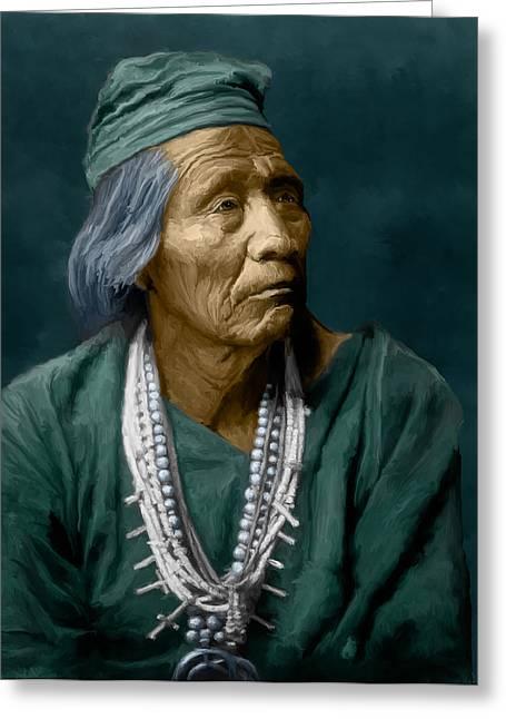 Nesjaja Hatali - Navaho Greeting Card