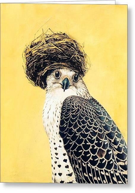 Nesting Series Vii Greeting Card