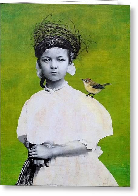 Nesting Series Viii Greeting Card