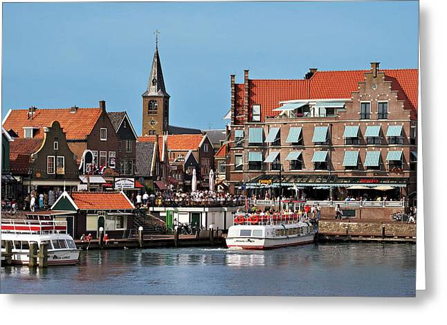 Netherlands, Edam-volendam, View Greeting Card by Miva Stock