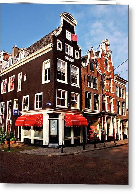 Netherlands, North Holland, Amsterdam Greeting Card