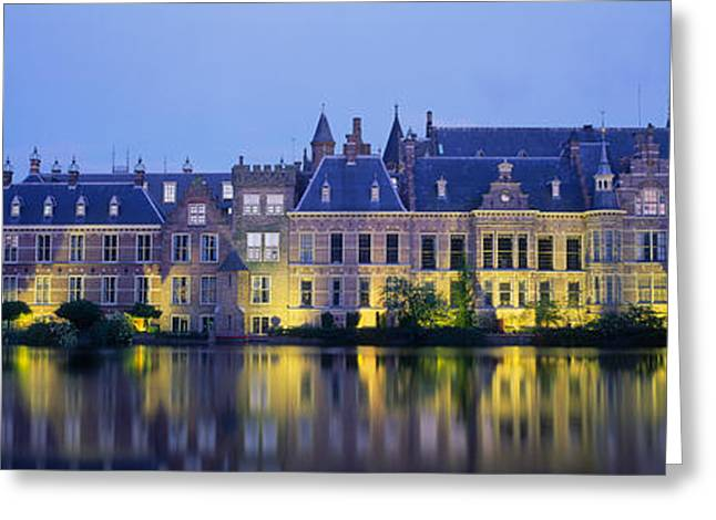 Netherlands, The Hague Greeting Card by Panoramic Images