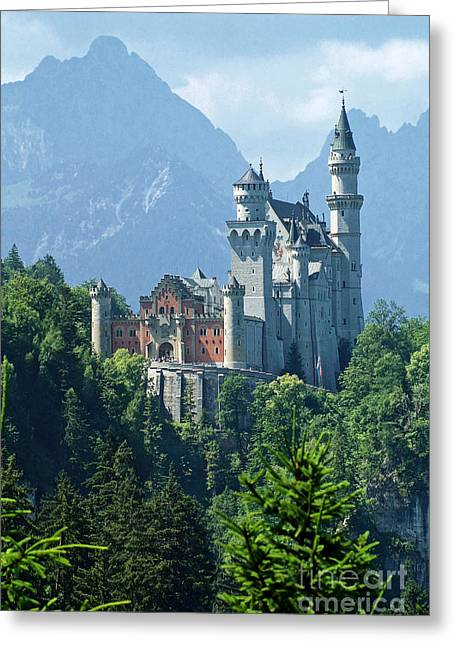 Neuschwanstein Castle 11 Greeting Card