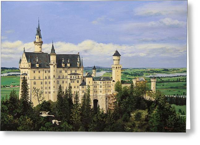 Neuschwanstein Castle Germany Greeting Card
