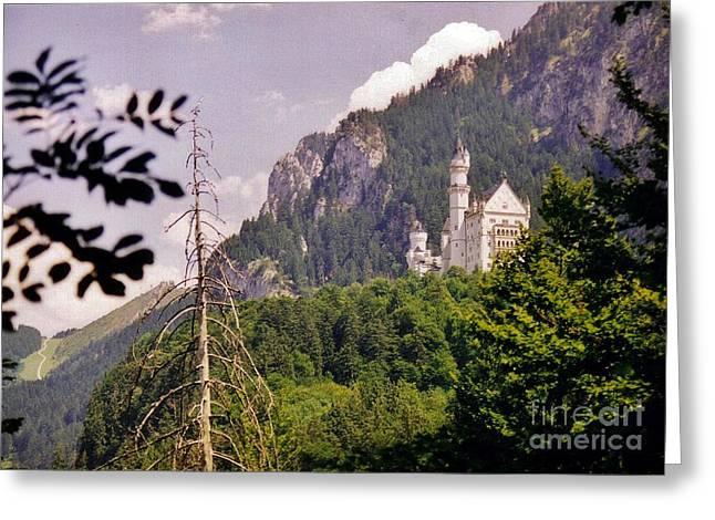 Neuschwanstein Castle Greeting Card by Halifax Artist John Malone
