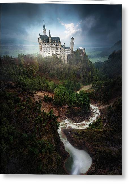 Neuschwanstein. Greeting Card