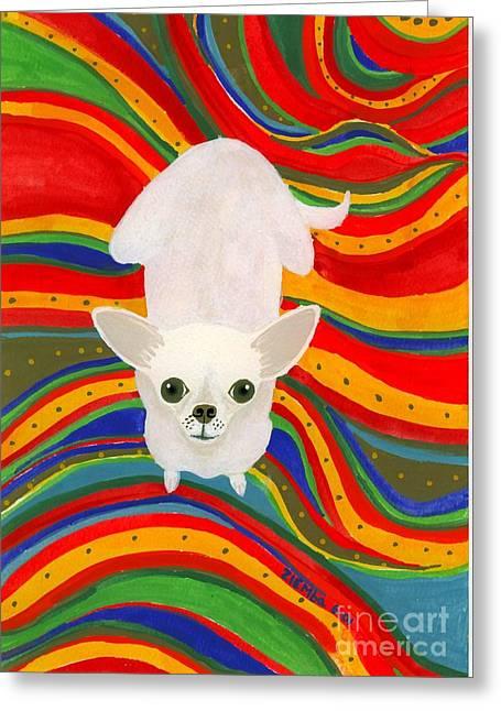 Neutron On A Serape Greeting Card