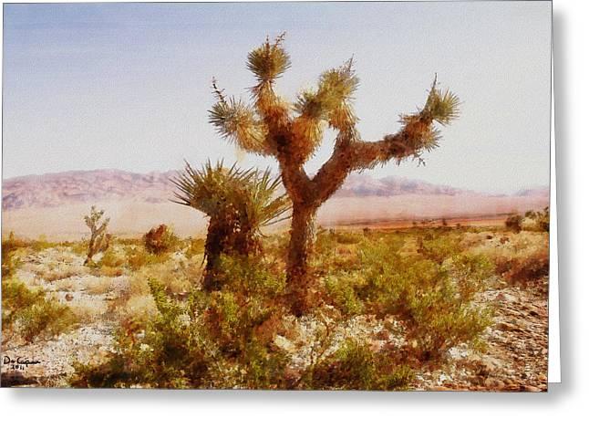 Nevada Desert Greeting Card