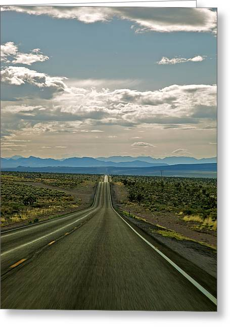 Nevada Road Greeting Card