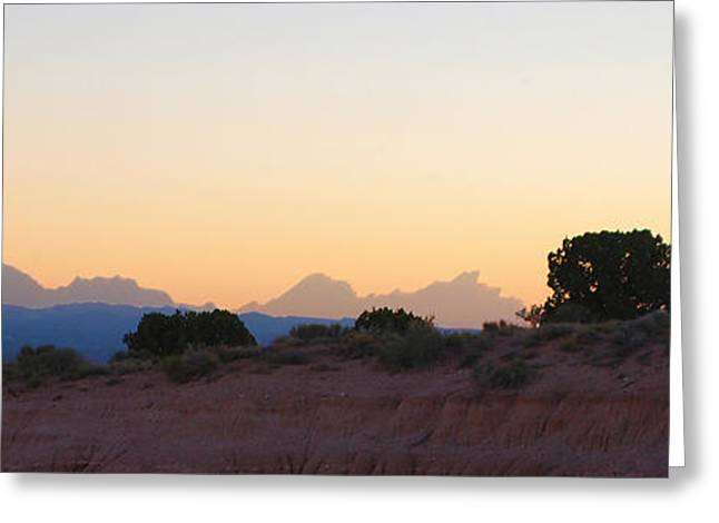 Nevada Sundown Greeting Card