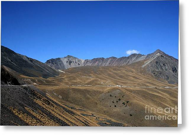 Nevado De Toluca Mexico Greeting Card