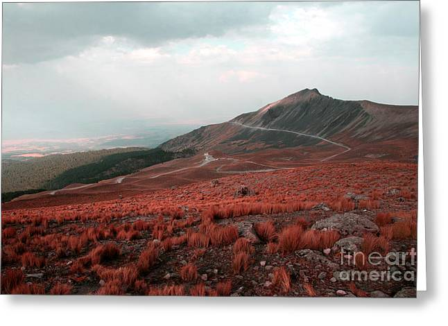Nevado De Toluca Mexico II Greeting Card
