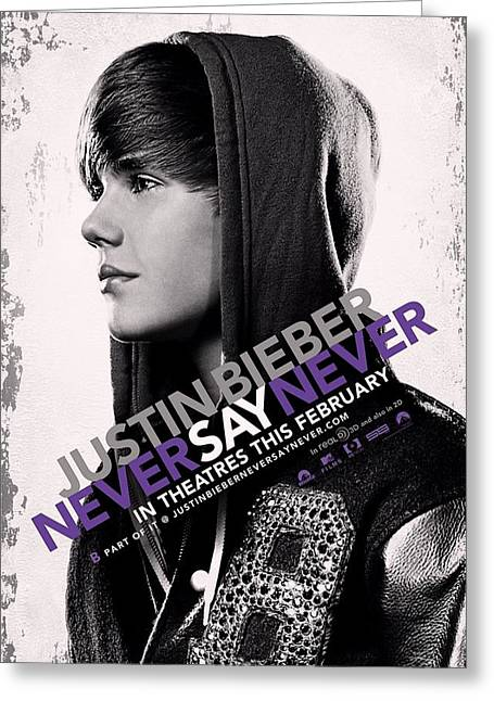 Never Say Never 2 Greeting Card by Movie Poster Prints