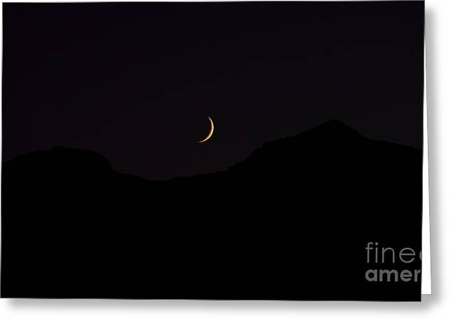 Never Summer Range Moonset Greeting Card by Jon Burch Photography