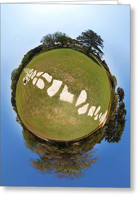 Greeting Card featuring the photograph Neverland by Meir Ezrachi
