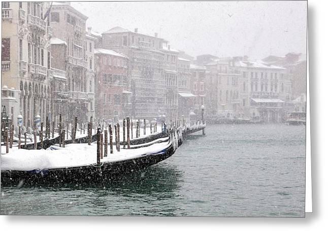 Nevica 3 Greeting Card by Izabella V?gh