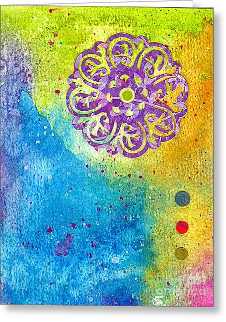 New Age #7 Greeting Card by Desiree Paquette