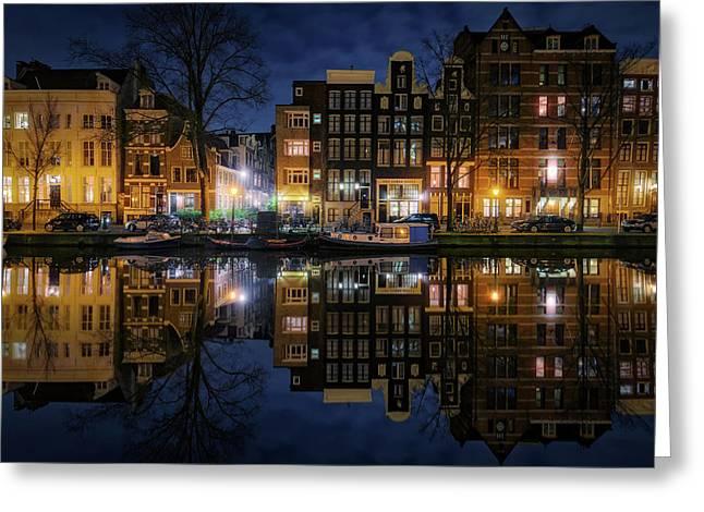 New Amsterdam 3 Greeting Card
