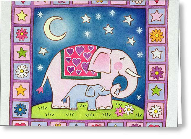 New Baby Greeting Card by Cathy Baxter