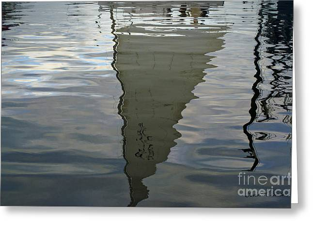 New Bedford Waterfront Xii Greeting Card by Dave Gordon