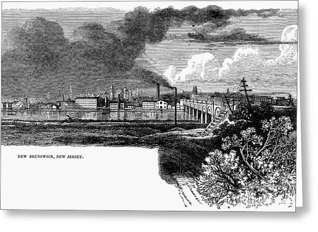 New Brunswick, 1876 Greeting Card by Granger